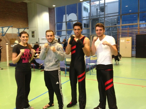 club boxe nanterre universite